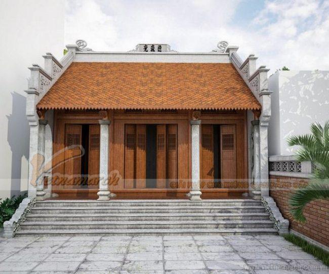 Tìm hiểu về bản vẽ nhà thờ 3 gian và các mẫu thiết kế từ đường độc đáo