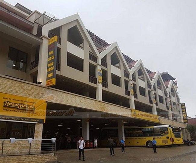 Bãi đỗ xe 6 tầng hiện đại thông minh đầu tiên xuất hiện tại Sapa