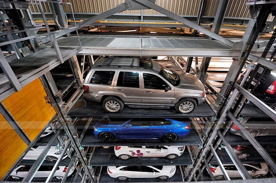 Bãi đỗ xe thông minh - tự lái - có hệ thống thang nâng tự động hoạt động như thế nào?