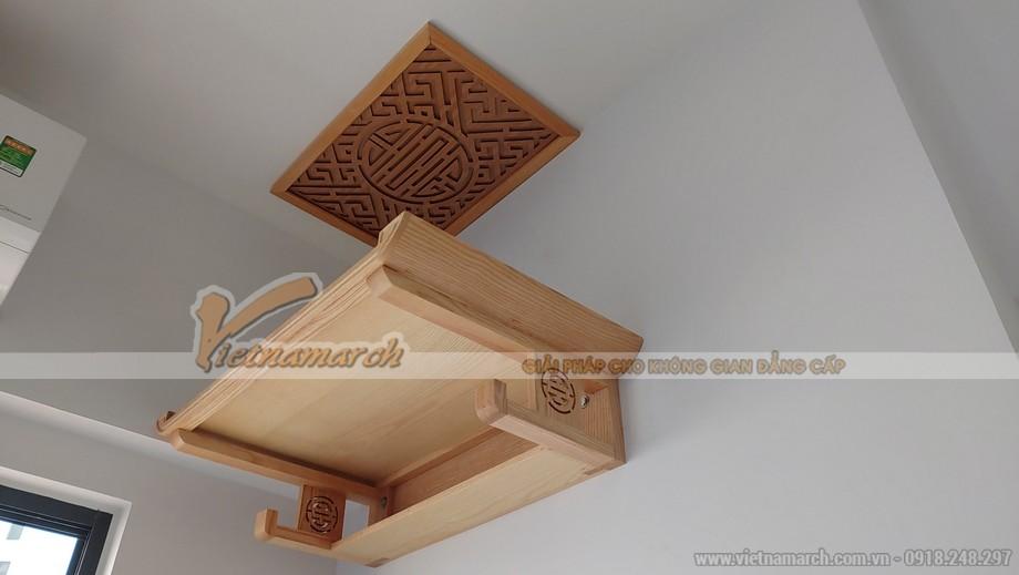 10++ mẫu bàn thờ treo tường 2 tầng đẹp.