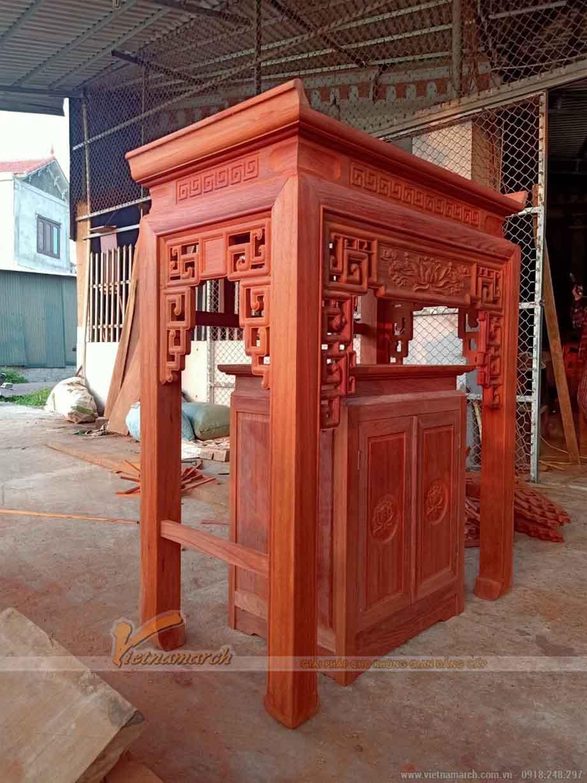 Cách chọn gỗ làm bàn thờ