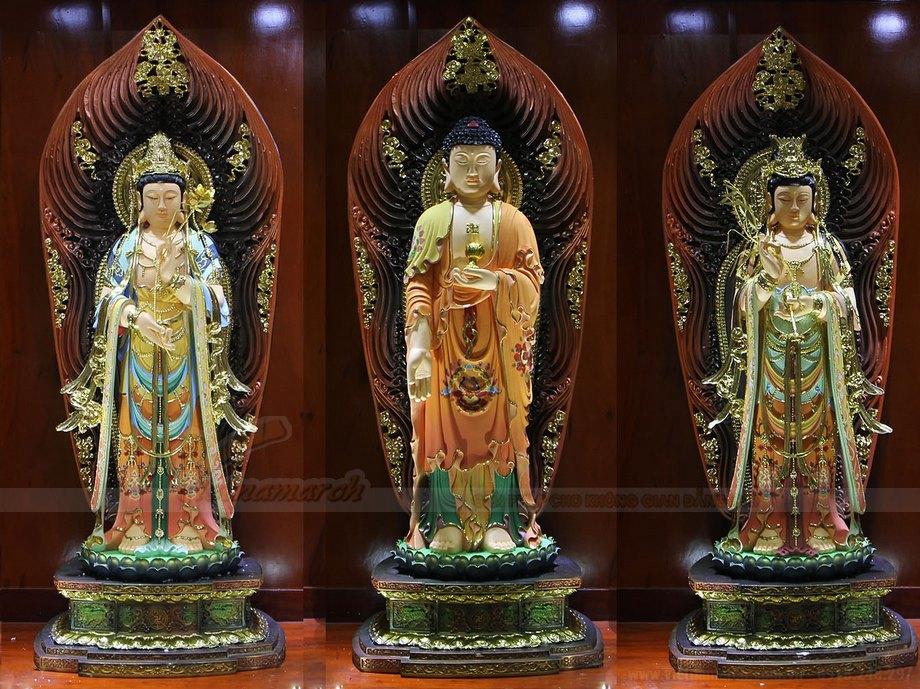 Mẫu tượng Phật Tam thế phật đẹp