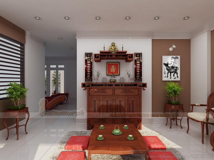 Vị trí đặt bàn thờ Phật đẹp nhất