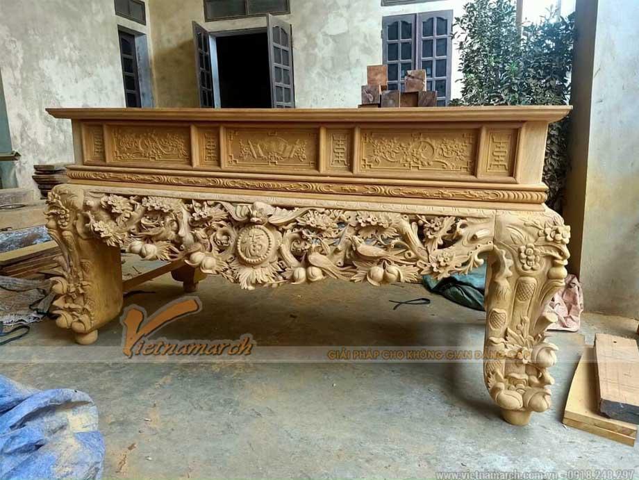 Các loại gỗ làm bàn thờ