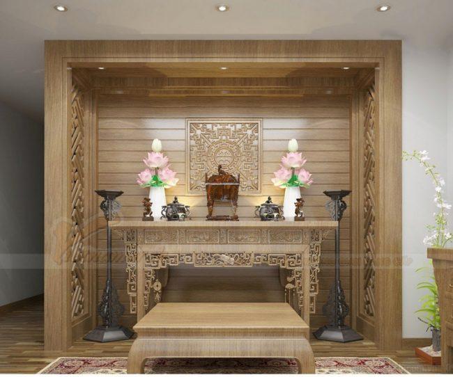 Cách bài trí hướng bàn thờ hợp phong thủy rước lộc vào nhà!