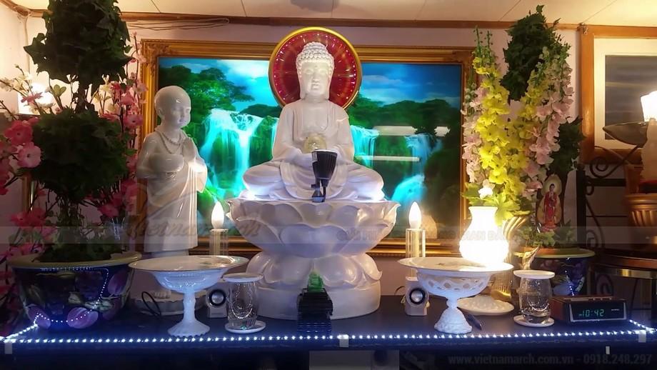 10++ mẫu bàn thờ Phật tại gia đẹp nhất 2018!
