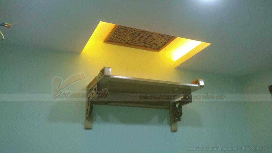 Chiêm ngưỡng những mẫu bàn thờ dành riêng cho nhà trọ