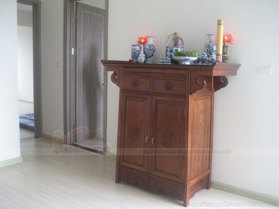 Đặt bàn thờ quay ra cửa chính- nên hay không?