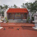 Những công trình nhà thờ tổ, từ đường đẹp có kiến trúc cổ kính ở Việt Nam
