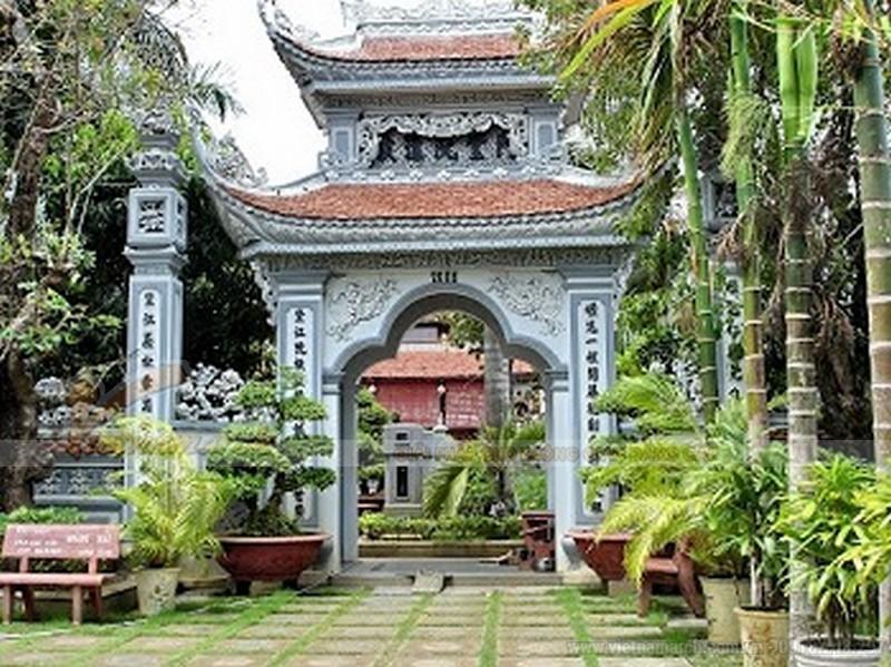 Hình ảnh cổng nhà thờ họ đẹp nhất