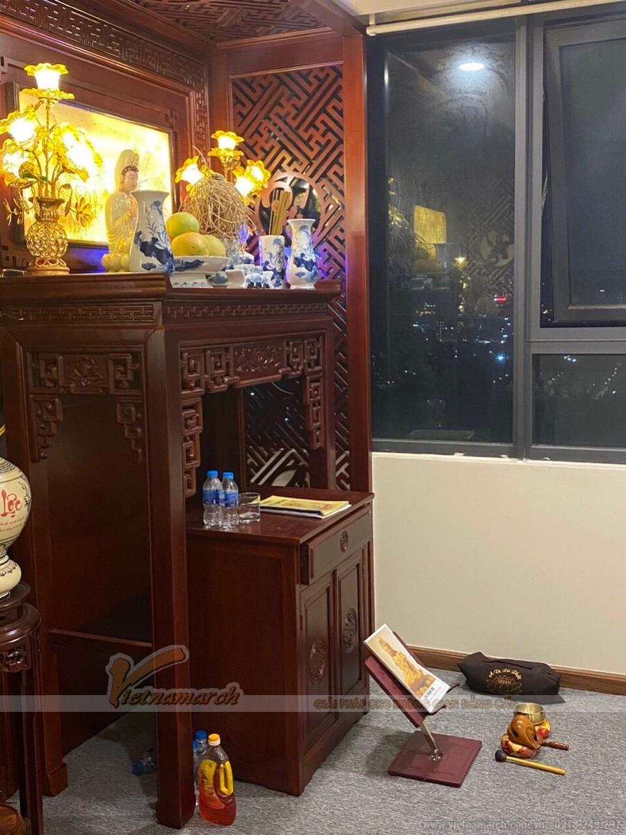 10++ mẫu bàn thờ Phật tại gia đẹp nhất hiện nay