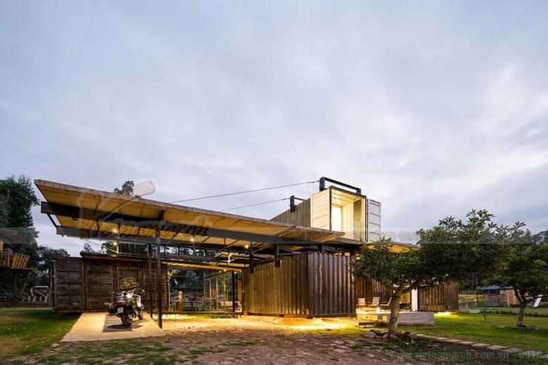 Nhà container Ecuadorian ở Ecuador