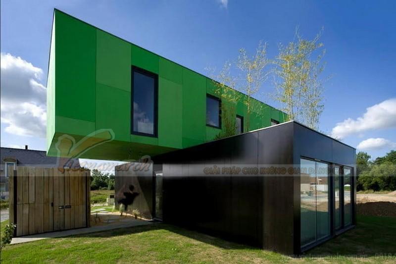 Crossbox house ở Pháp