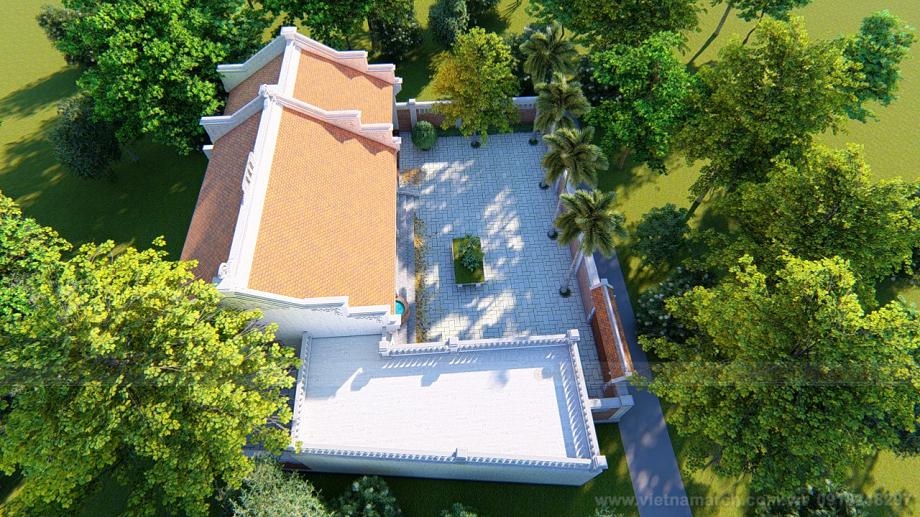 Nhà thờ 3 gian 2 mái của anh Hoài Thanh