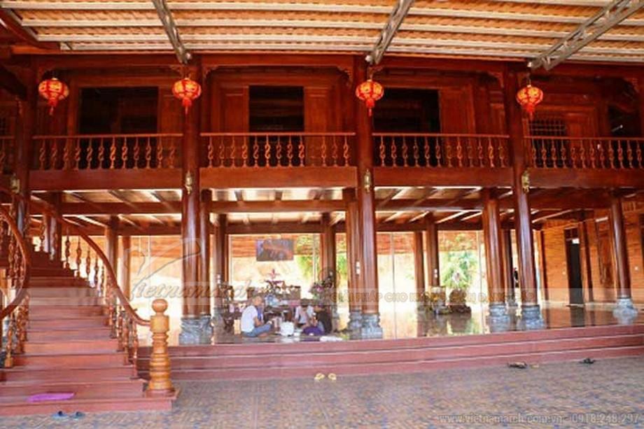Nhà gỗ 100 tỷ ở Nghệ An