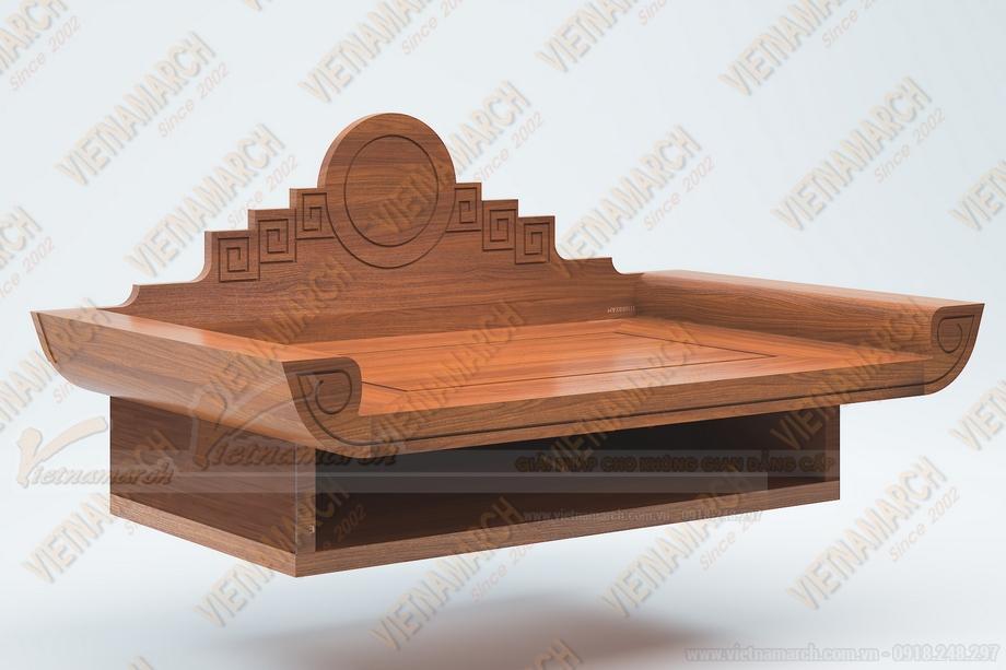 Những mẫu bàn thờ treo tường thông dụng nhất hiện nay ( phần 2)