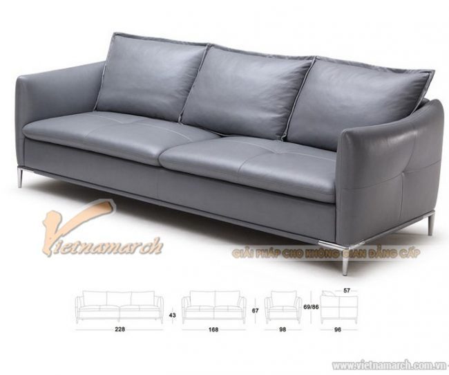 Sofa da nhỏ