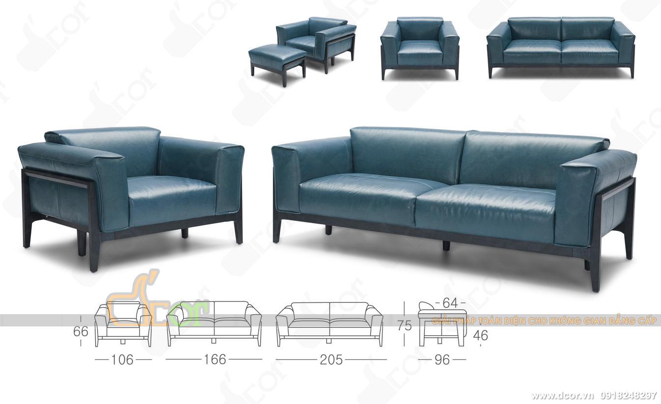 Những ưu điểm vượt trội của dòng sofa da thật nhập khẩu Malaysia