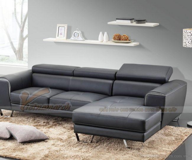 Sofa da thật nhập khẩu malaysia