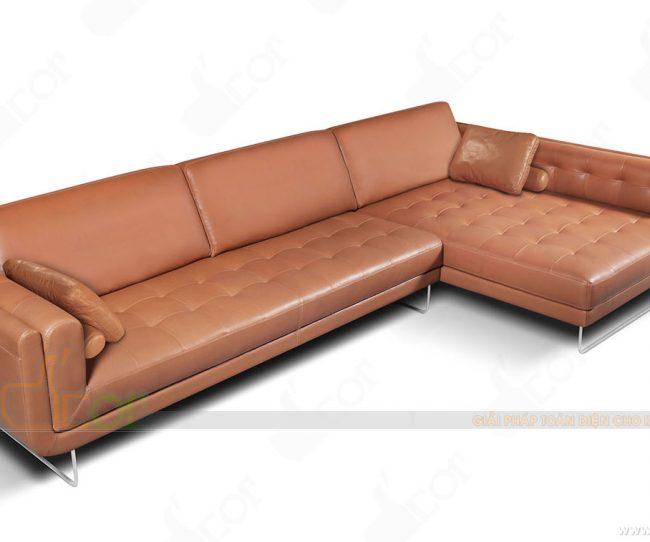 5 lưu ý không thể bỏ qua khi mua sofa góc nhập khẩu năm 2018