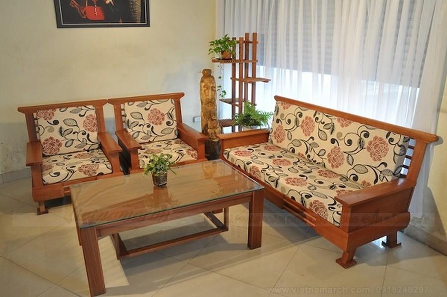 Sofa góc ghế gỗ - sự lựa chọn hoàn hảo cho không gian sống