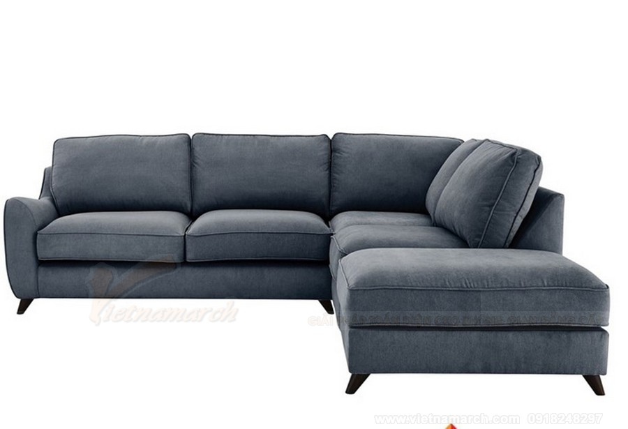 Không còn nỗi lo bụi bẩn nhờ sofa bọc vải nhung