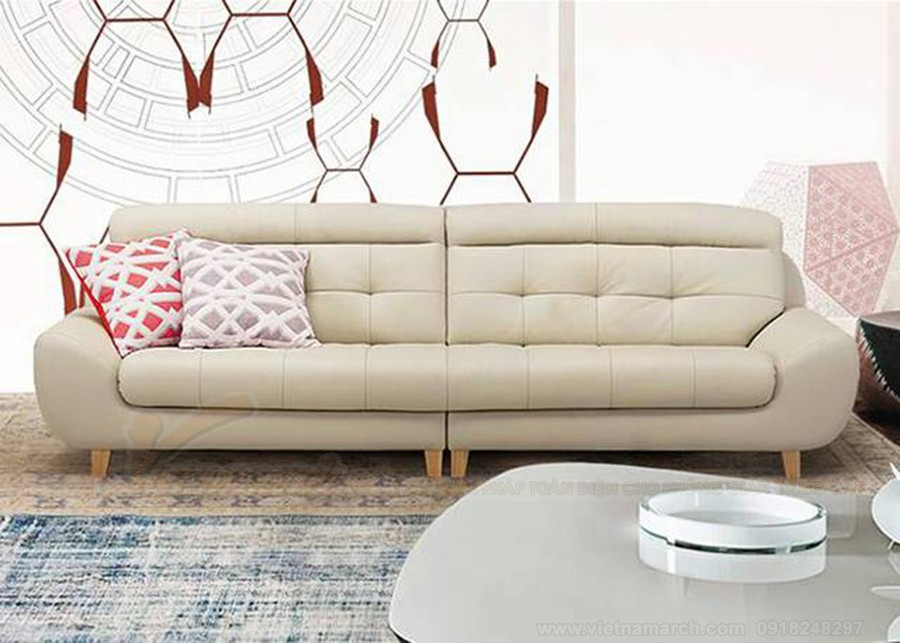 Mẫu ghế sofa văng cao cấp - dành cho chung cư hiện đại