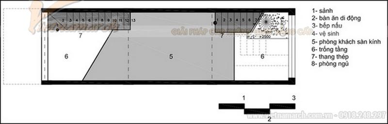 Bản vẽ thiết kế nhà ống 30m2