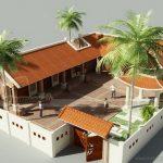 10+ mẫu nhà thờ họ kết hợp nhà ở đẹp đáng học hỏi