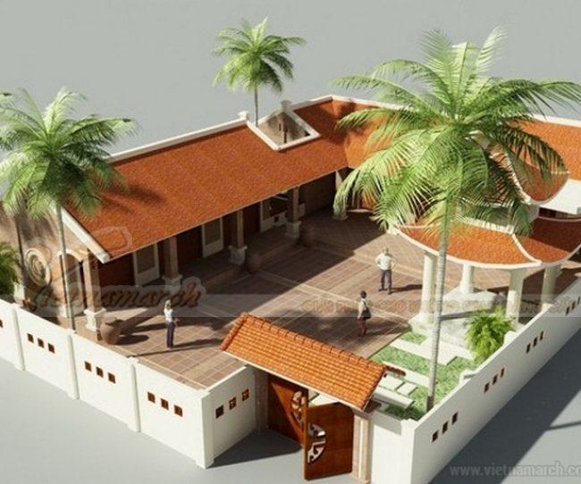 Thiết kế nhà thờ họ kết hợp nhà ở