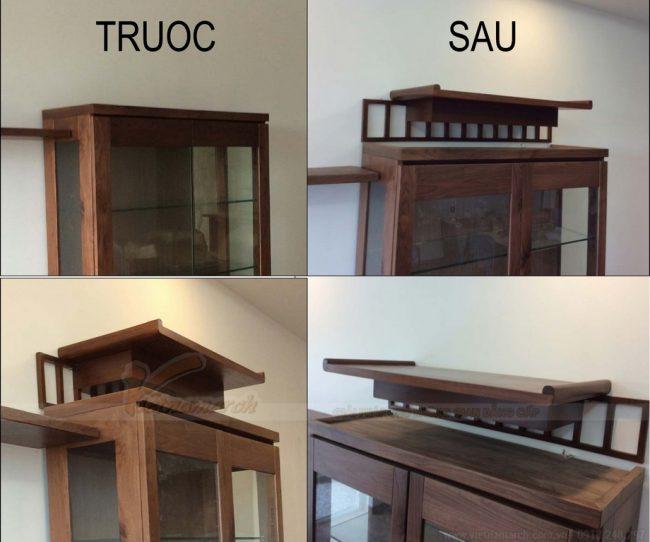 Top 10 mẫu bàn thờ gia tiên đẹp- hiện đại cho nhà chung cư