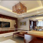 Các mẫu trần phòng khách bằng thạch cao hộp HOT nhất 2021