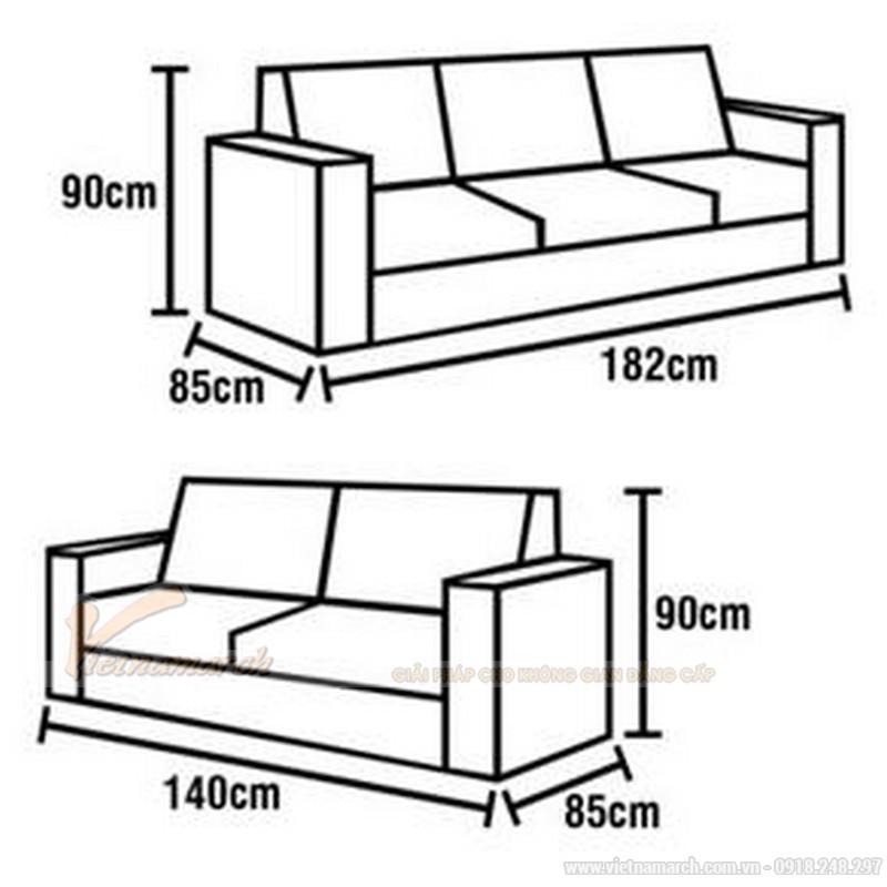 17 mẫu sofa da dài 3m nhất định phải có cho phòng khách rộng đẹp hiện đại