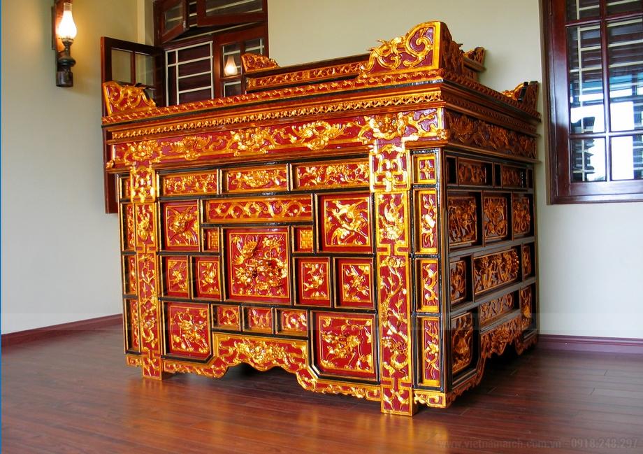 20++ mẫu bàn thờ cổ phù hợp với mọi thời đại