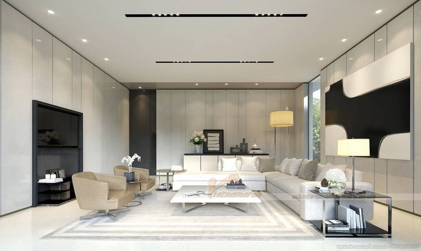 thiết kế nội thất chung cư cho thuê