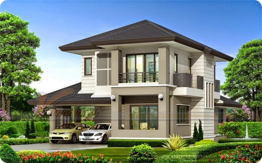 Image result for thiết kế nhà biệt thự