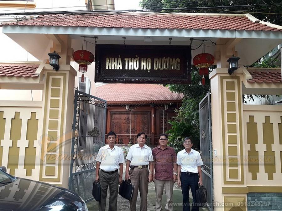 Tìm hiểu về nhà thờ họ Dương ở Việt Nam