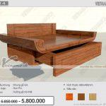 Mẫu bàn thờ treo gỗ Gõ Lào bền đẹp giá rẻ tại Hà Nội: BTT 14