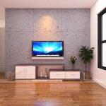 Mẫu kệ tivi bằng nhựa Đài Loan-Nội thất cho không gian đẹp hiện đại