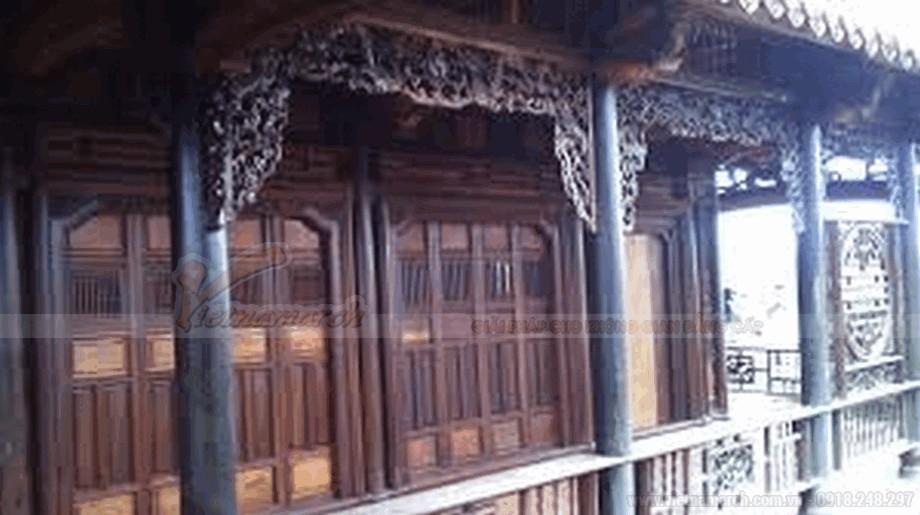 Nhà gỗ cổ truyền đẹp và mộc mạc view3