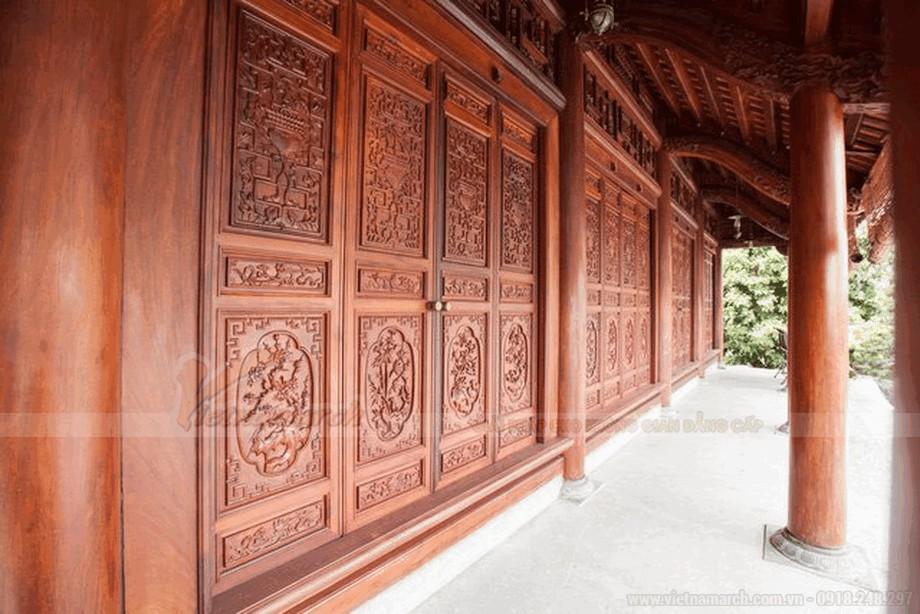 Nhà gỗ cổ truyền đẹp và mộc mạc view4