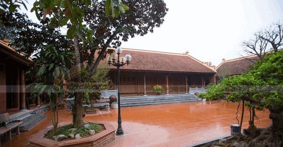 Nhà gỗ cổ truyền đẹp và mộc mạc view10