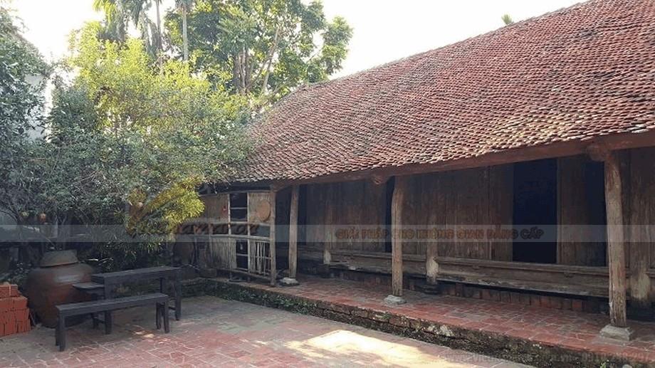 Nhà gỗ cổ truyền đẹp và mộc mạc view1