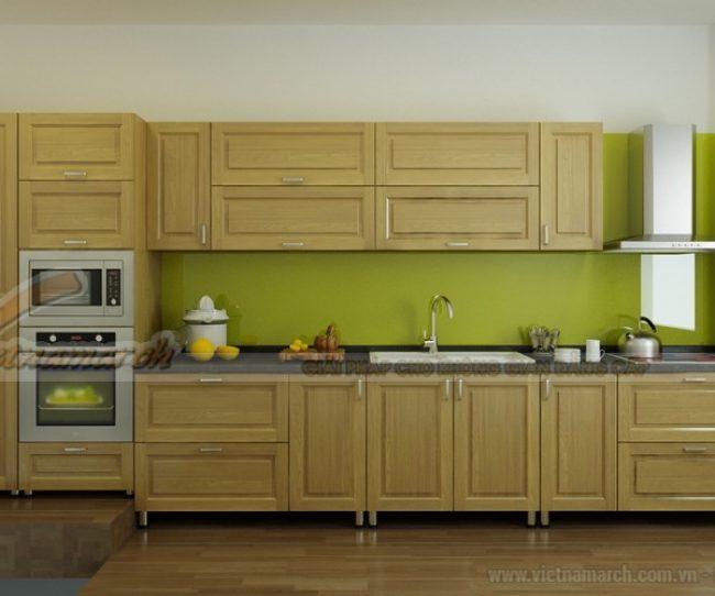 Những mẫu tủ bếp inox đẹp có độ bền cao