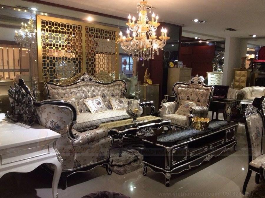 Tham khảo những mẫu sofa tân cổ điển làm từ gỗ óc chó hot nhất trên thị trường hiện nay
