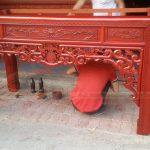 Bàn thờ Gỗ Hương- sự lựa chọn hoàn hảo cho không gian nhà bạn- Báo giá rẻ nhất Hà Nội
