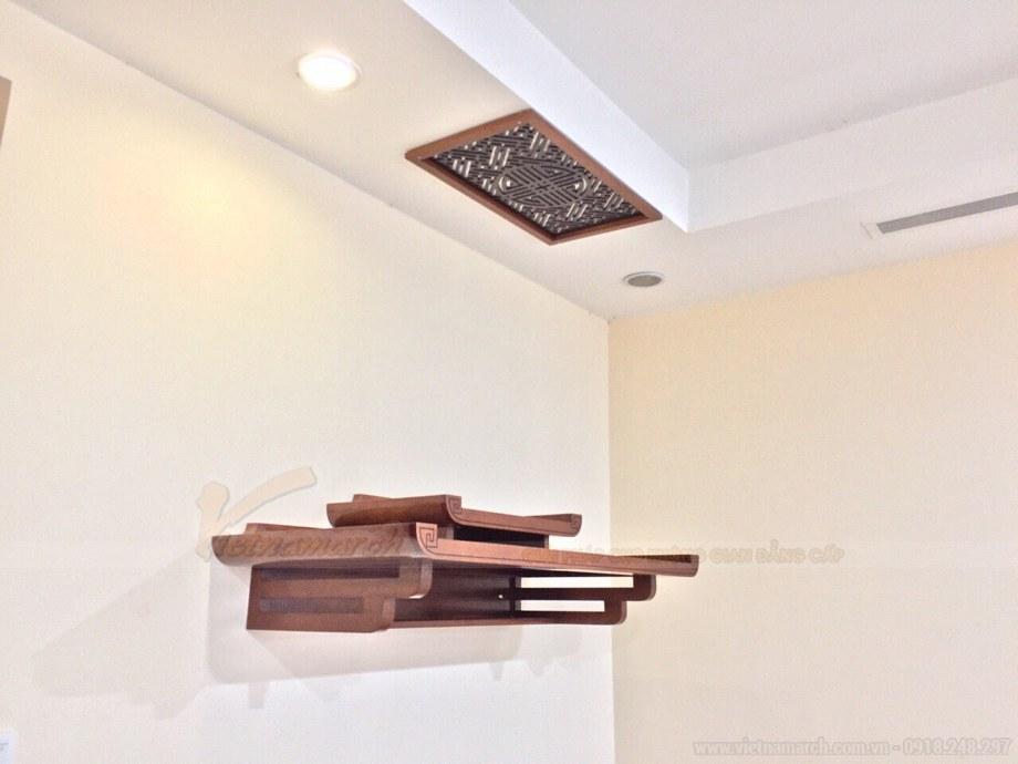 Cách lựa chọn kích thước bàn thờ treo tường hợp phong thủy mang tài lộc vào nhà!