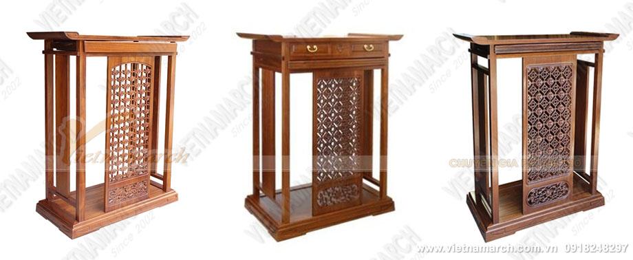 thiết kế mẫu bàn thờ BTD03