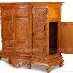 Bàn thờ bằng gỗ gõ đỏ có đắt không? Tư vấn báo giá bàn thờ gỗ gõ đỏ các loại tại Hà Nội