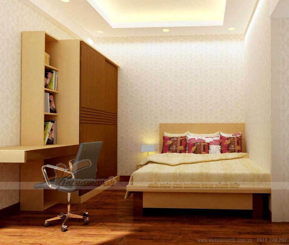 Mẫu trần thạch cao phòng ngủ 12m2